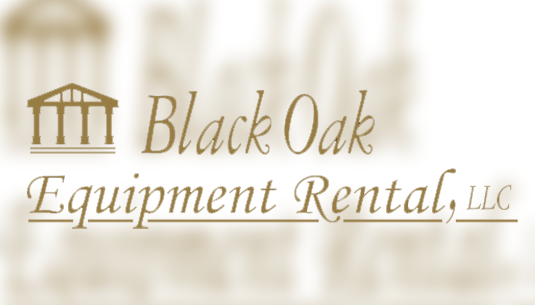 Black Oak Equipment Rental Final