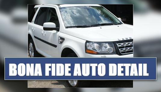 Bona Fide Auto Detail