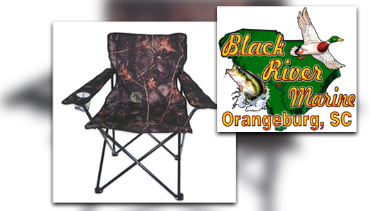 Camo Folding Chair_Black River Marine