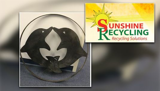 Dolphin Metal Art_Sunshine Recycling