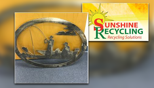 Fishing Metal Art_Sunshine Recycling