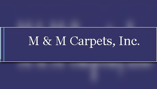 M&M Carpets