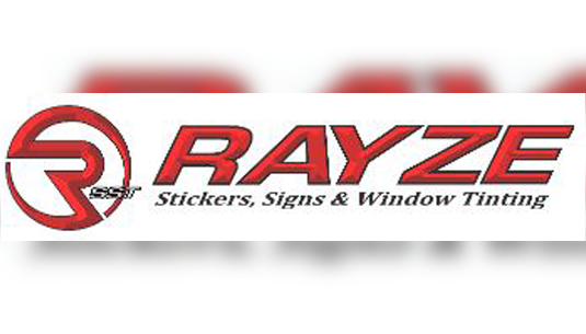 Rayze Stickers Signs and Window Tinting