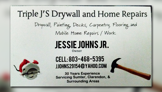 Triple J's Drywall & Repairs