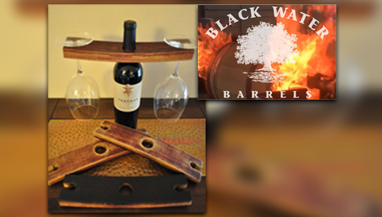 Wine Holder_Black Water Barrel