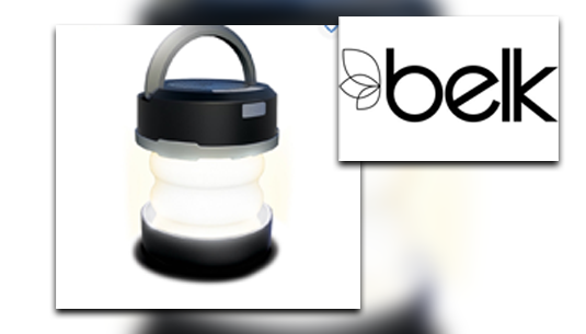 Polaroid Collapsible Lantern w. Bluetooh Speaker_Belk of Sumter