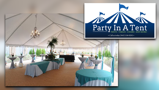 Party In A Tent