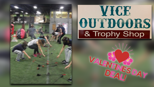 VDD_Bow and Arrow Tag Party_Vice Outdoors and Trophy